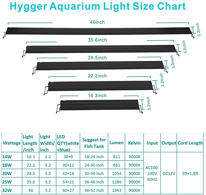 hygger HG-918B 14w product image 5