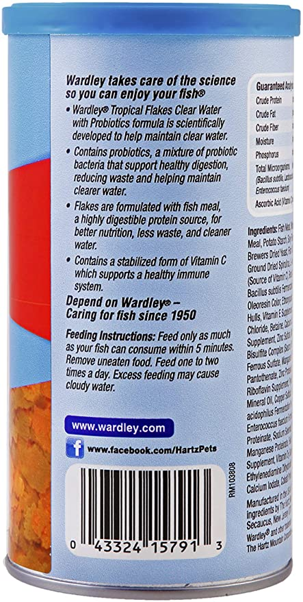 Hartz Goldfish Flakes with Probiotics product image 3